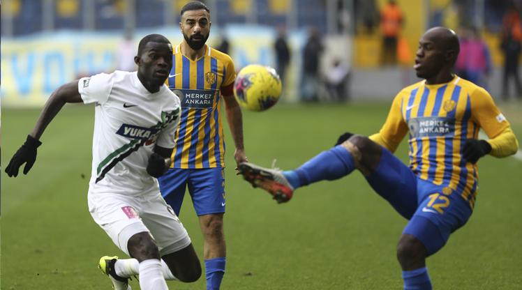 MKE Ankaragücü Yukatel Denizlispor maç özeti