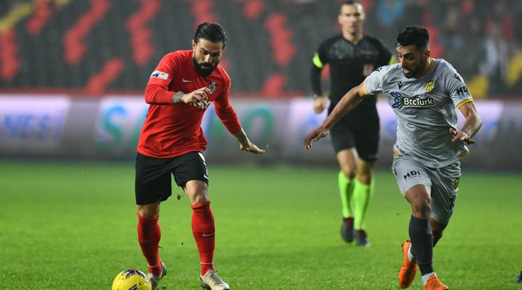 Gaziantep FK BTC Türk Yeni Malatyaspor maç özeti
