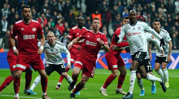 Beşiktaş Demir Grup Sivasspor maç özeti