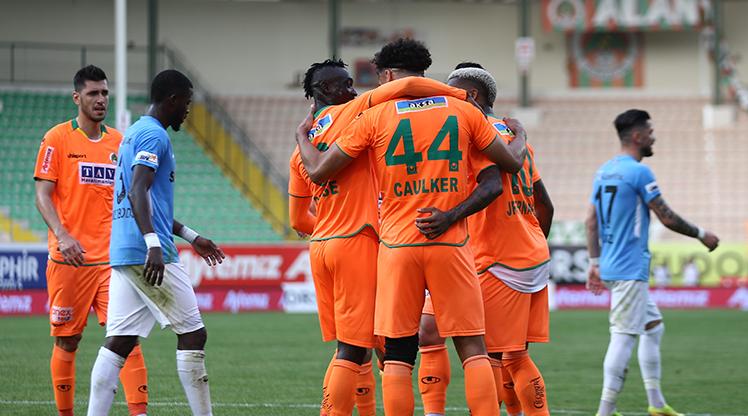 Aytemiz Alanyaspor Gaziantep FK maç özeti