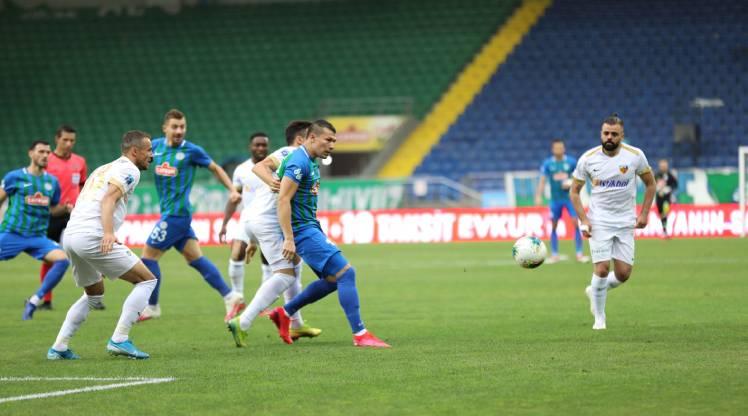 Çaykur Rizespor Hes Kablo Kayserispor maç özeti