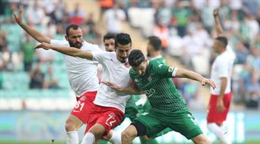 Bursaspor Cesar Grup Ümraniyespor maç özeti
