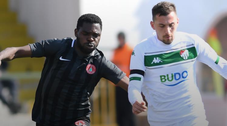 Cesar Grup Ümraniyespor Bursaspor maç özeti