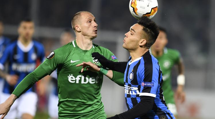 Ludogorets Razgrad Inter maç özeti