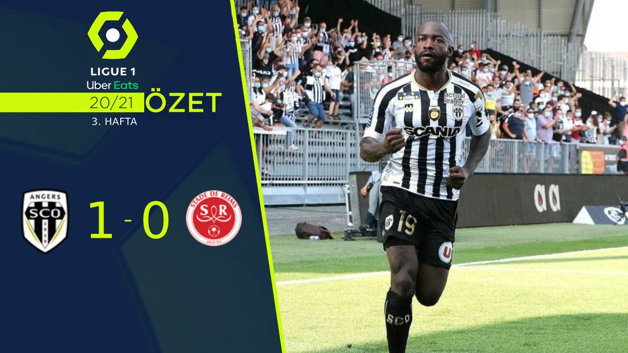 Angers Reims maç özeti