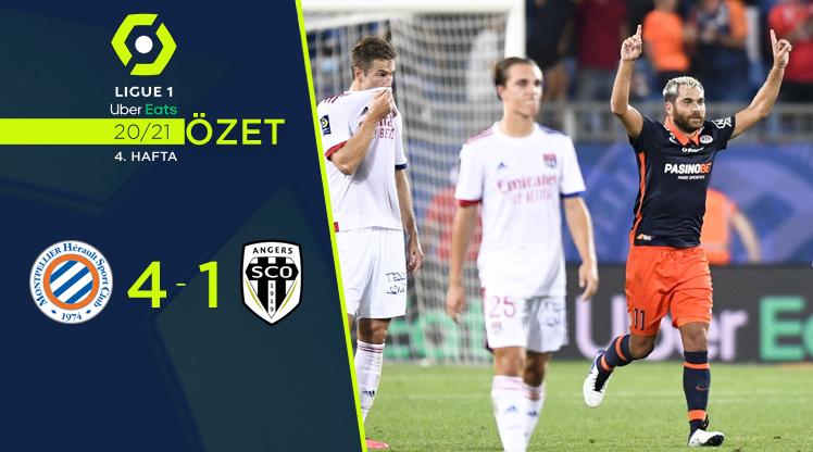Montpellier Angers maç özeti