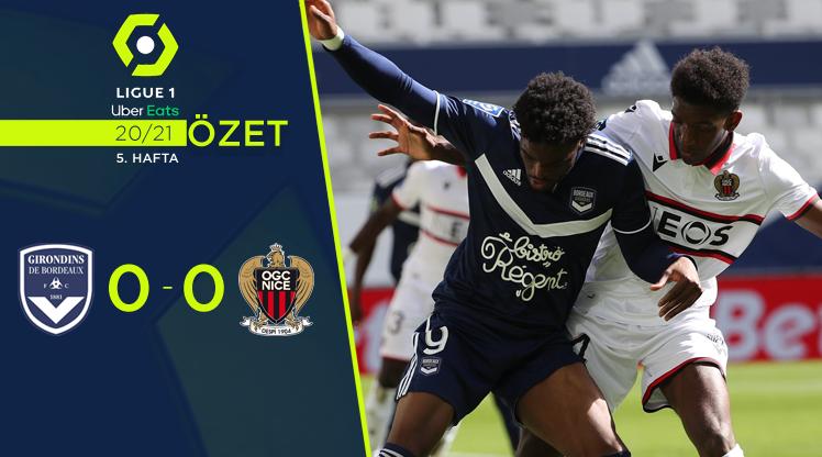 Bordeaux Nice maç özeti