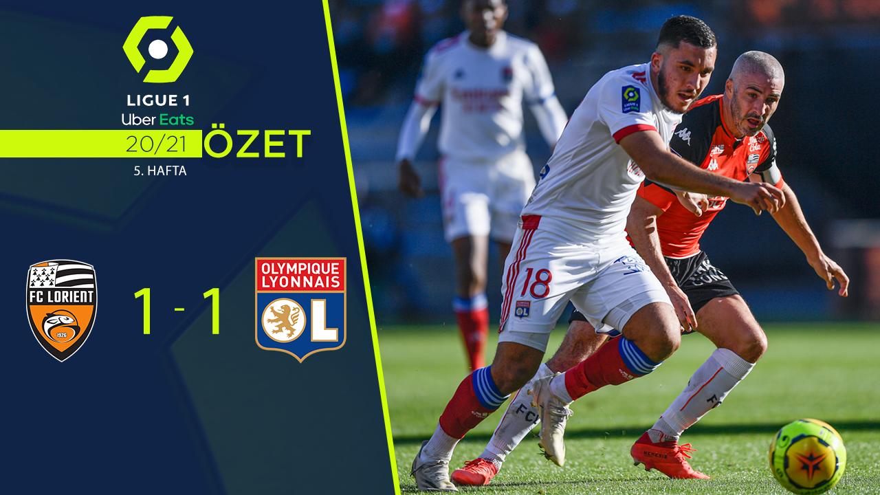 Lorient Olympique Lyon maç özeti