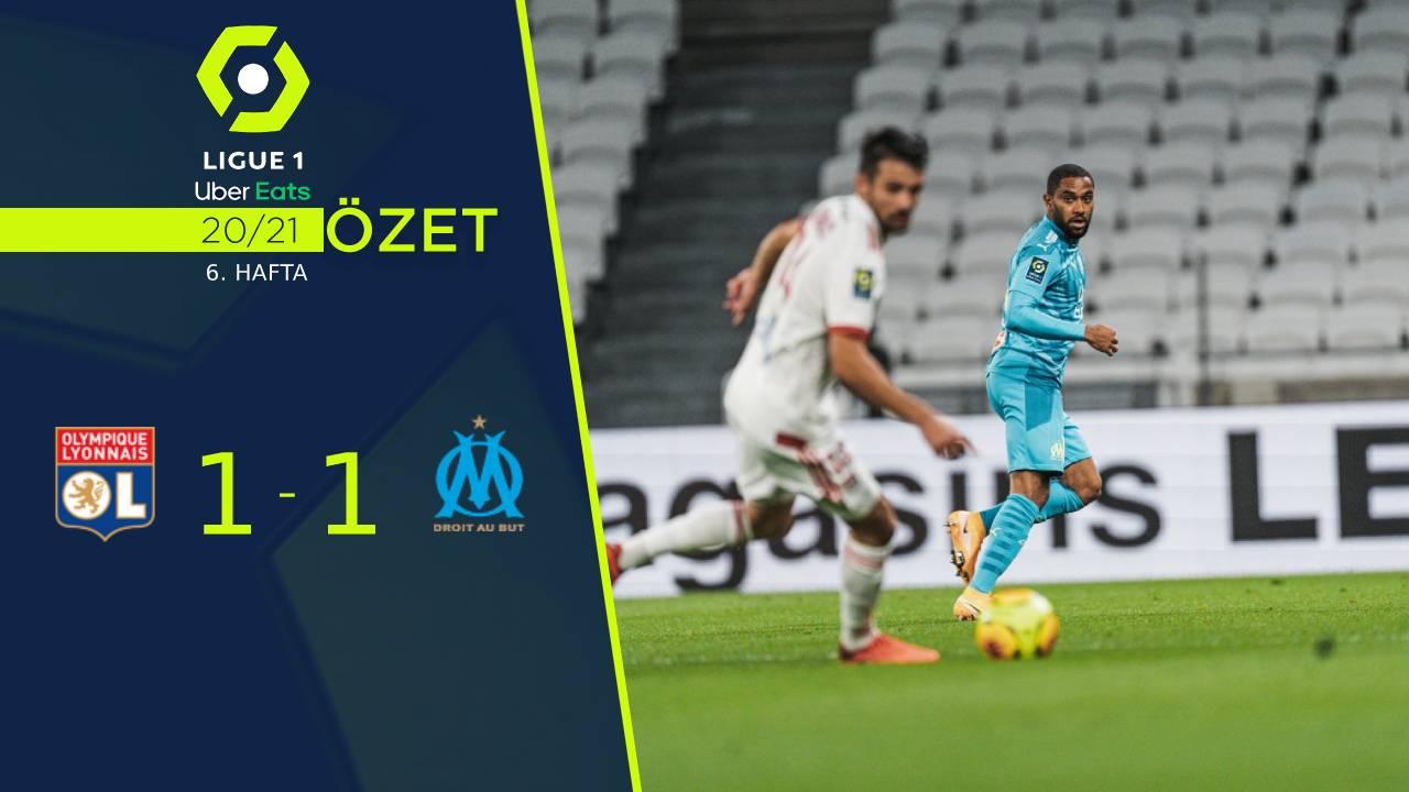 Olympique Lyon Marsilya maç özeti