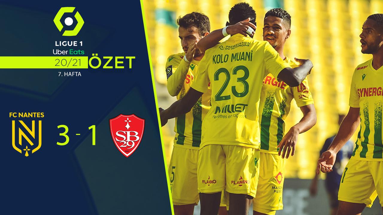 Nantes Stade Brest 29 maç özeti