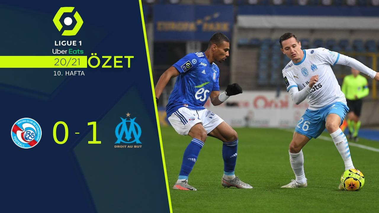 Strasbourg Marsilya maç özeti