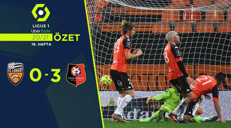 Lorient Rennes maç özeti