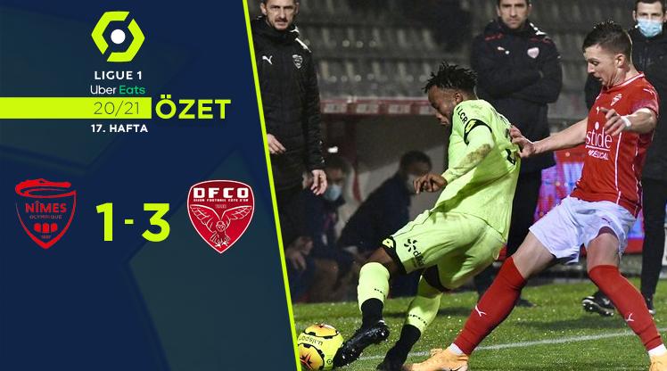 Nimes Olympique Dijon maç özeti