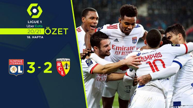 Olympique Lyon Lens maç özeti
