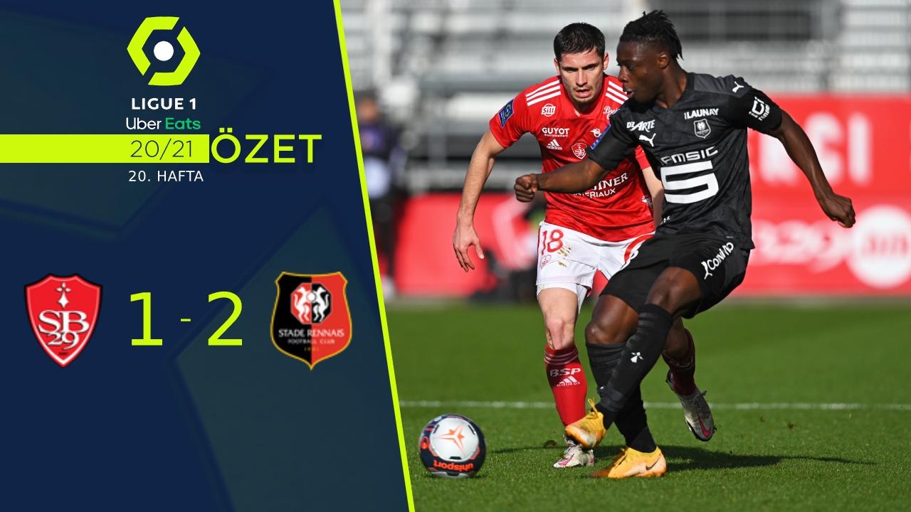 Stade Brest 29 Rennes maç özeti