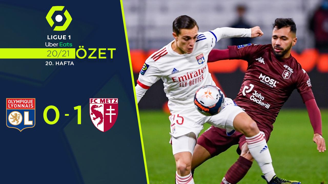 Olympique Lyon Metz maç özeti