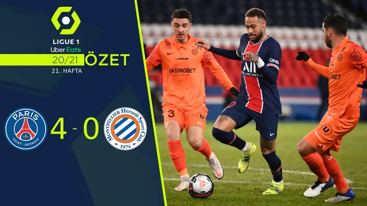 Paris St Germain Montpellier maç özeti