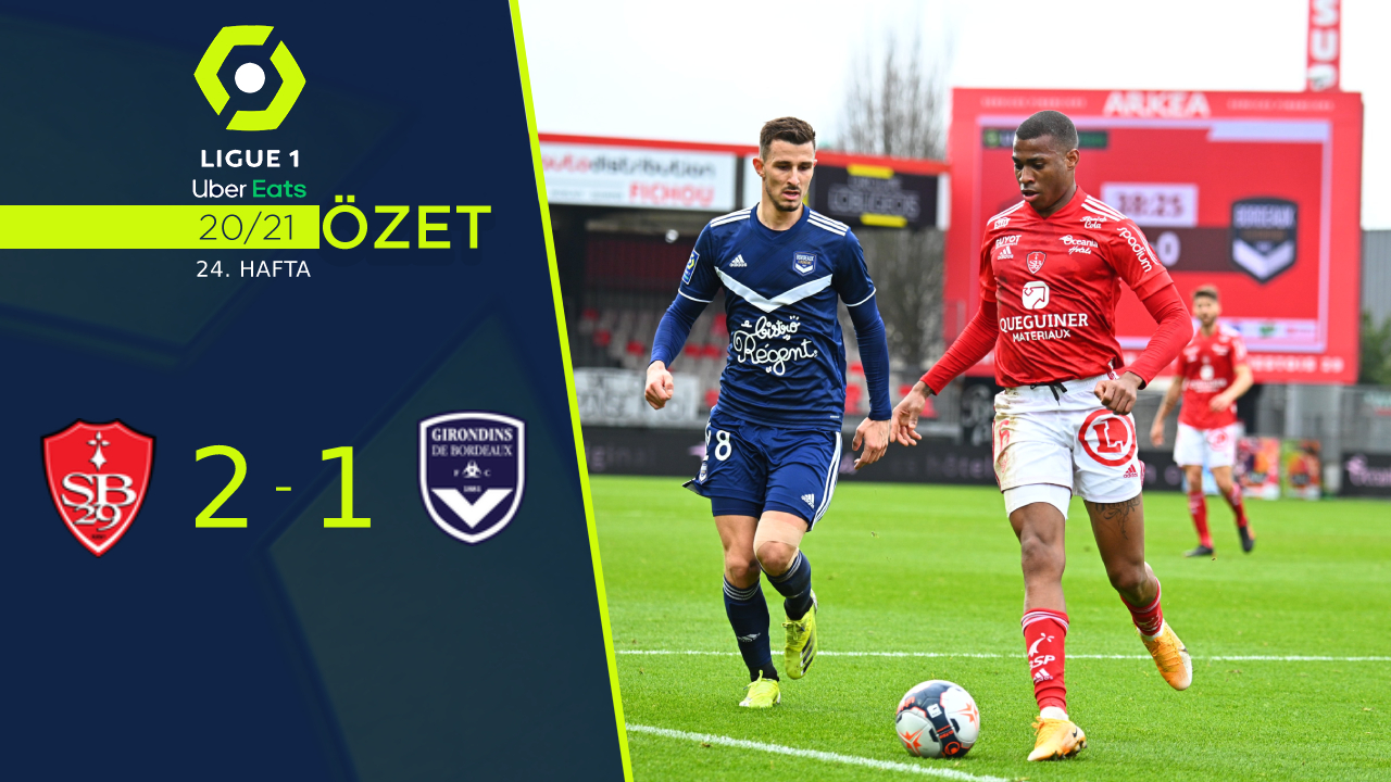 Stade Brest 29 Bordeaux maç özeti