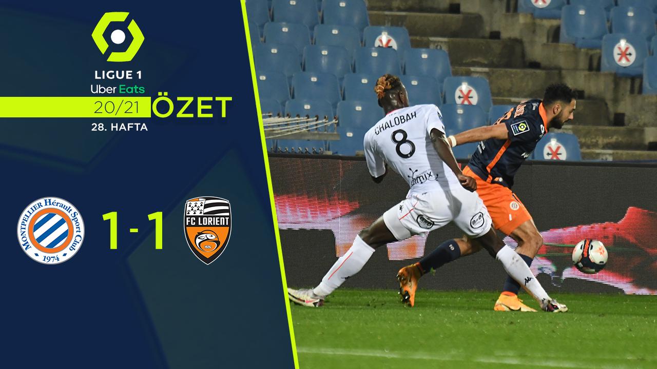 Montpellier Lorient maç özeti