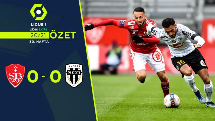 Stade Brest 29 Angers maç özeti