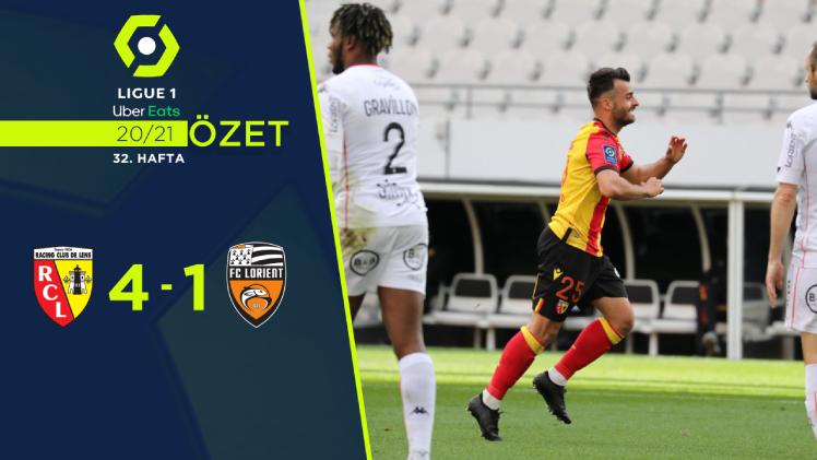Lens Lorient maç özeti