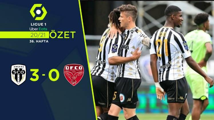 Angers Dijon maç özeti