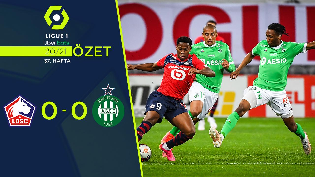Lille Saint Etienne maç özeti