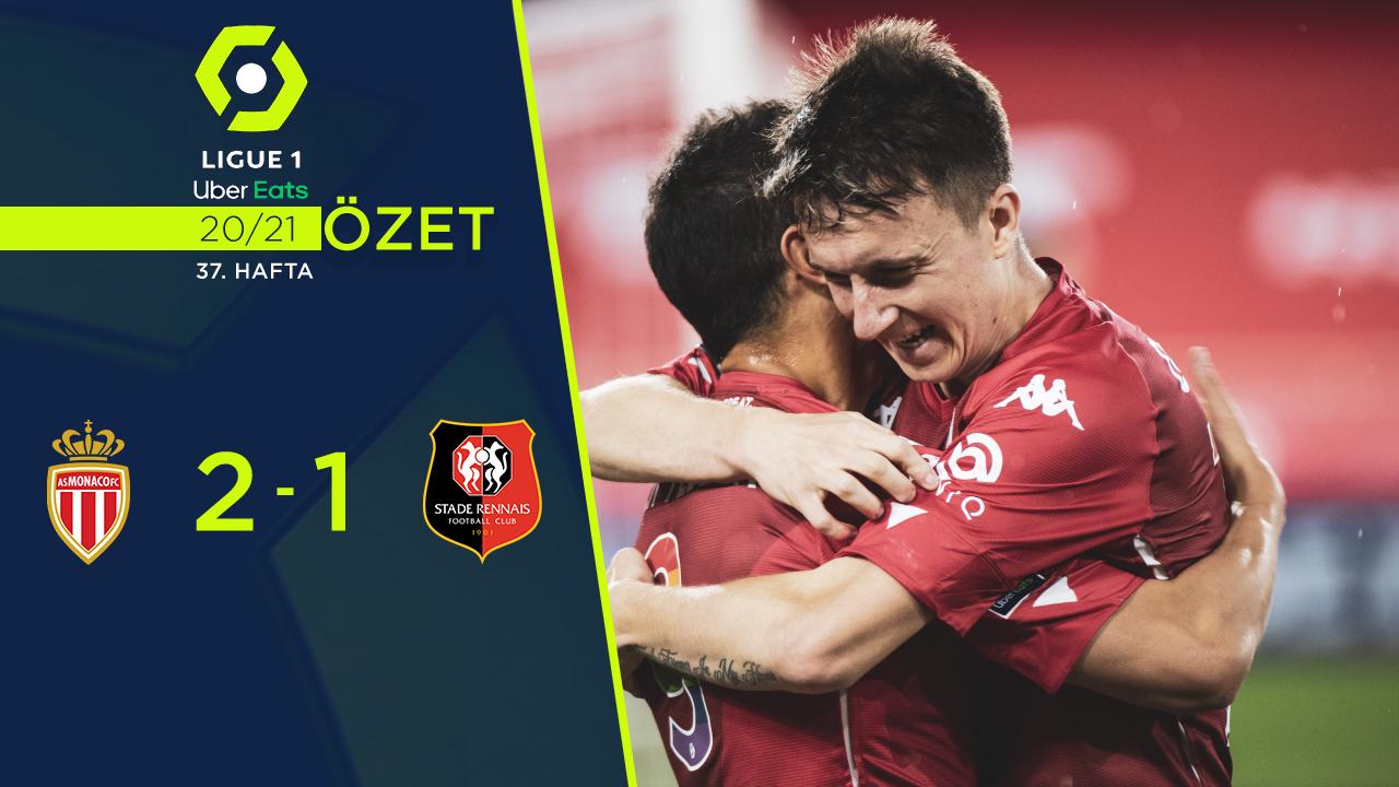 Monaco Rennes maç özeti