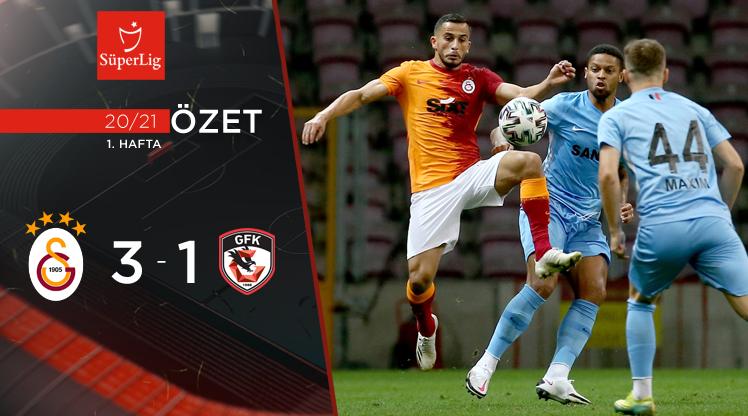 Galatasaray Gaziantep FK maç özeti