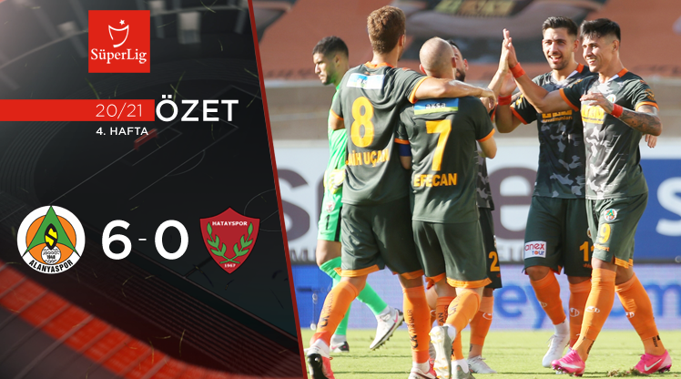 Aytemiz Alanyaspor Atakaş Hatayspor maç özeti