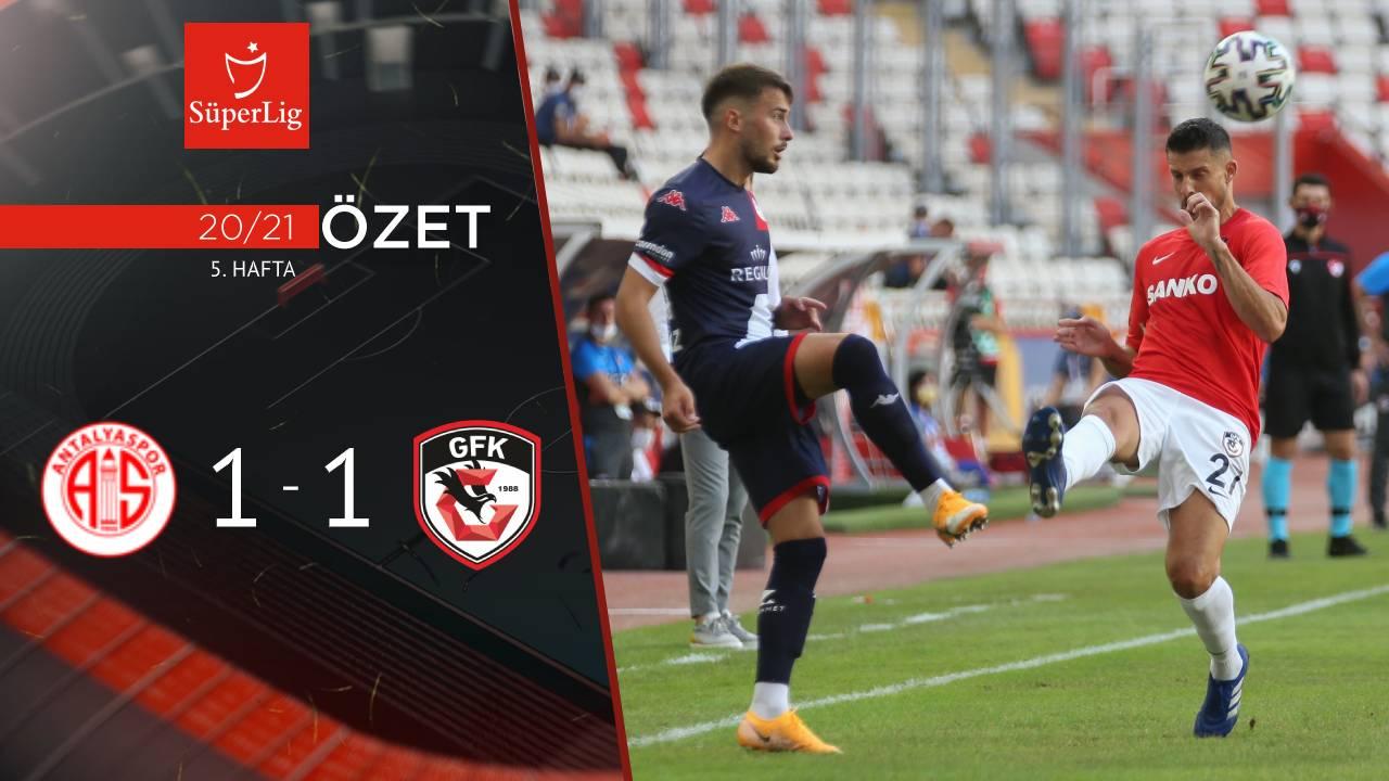 Fraport TAV Antalyaspor Gaziantep FK maç özeti
