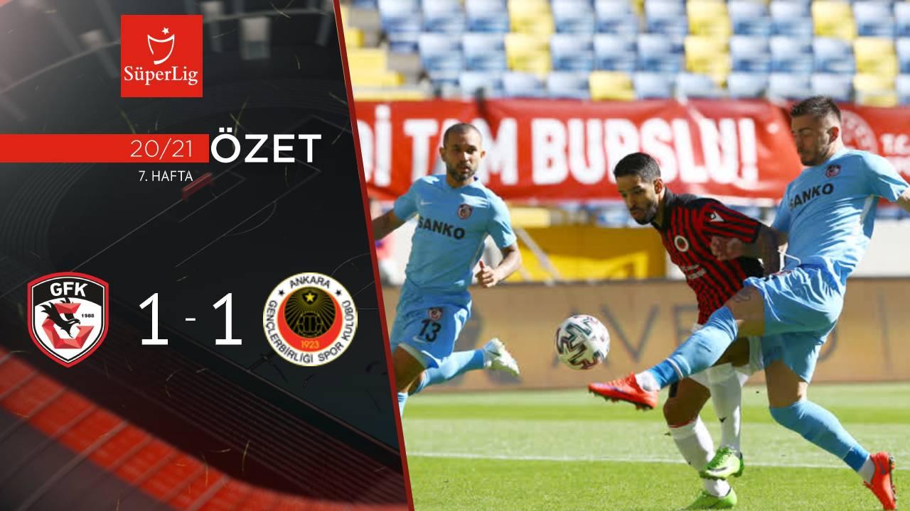 Gençlerbirliği Gaziantep FK maç özeti