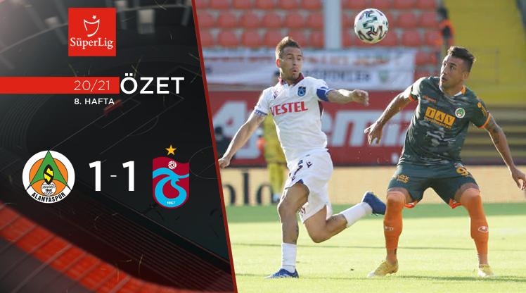 Aytemiz Alanyaspor Trabzonspor maç özeti