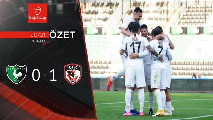 Yukatel Denizlispor Gaziantep FK maç özeti