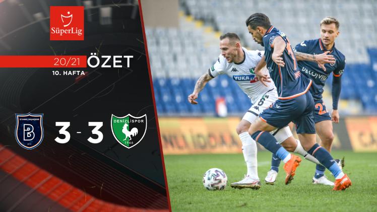 Medipol Başakşehir Yukatel Denizlispor maç özeti