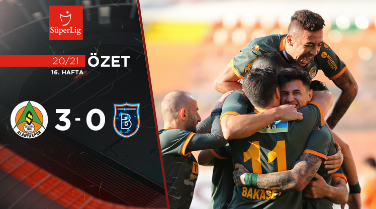 Aytemiz Alanyaspor Medipol Başakşehir maç özeti