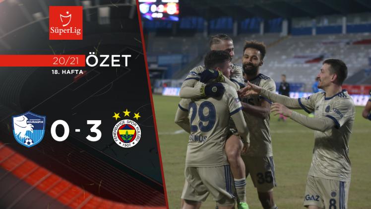 BB Erzurumspor Fenerbahçe maç özeti