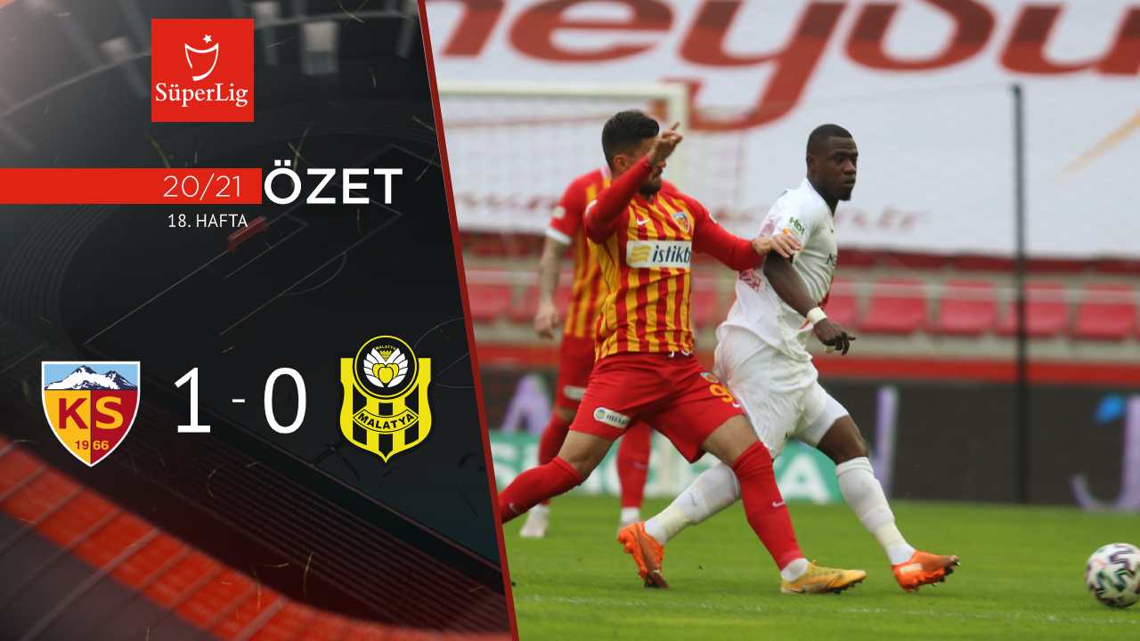 Hes Kablo Kayserispor Yeni Malatyaspor maç özeti