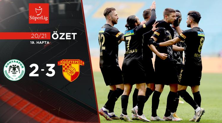 İttifak Holding Konyaspor Göztepe maç özeti