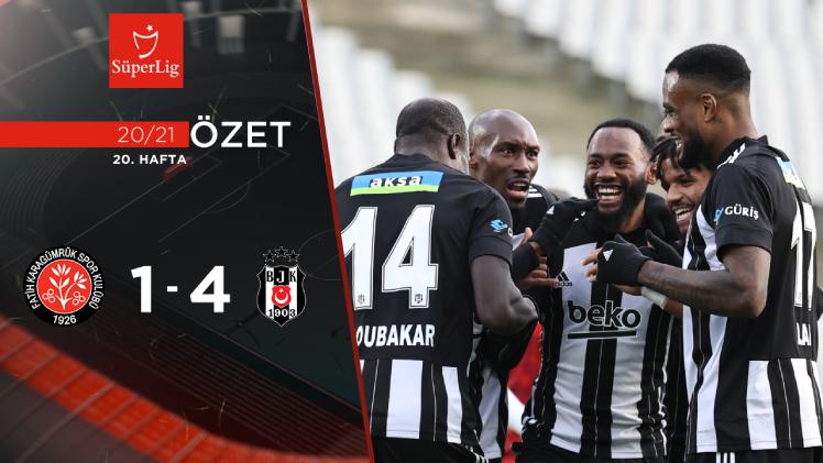 Fatih Karagümrük Beşiktaş maç özeti
