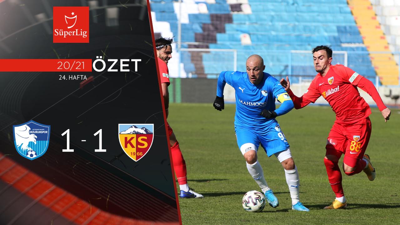 BB Erzurumspor Hes Kablo Kayserispor maç özeti