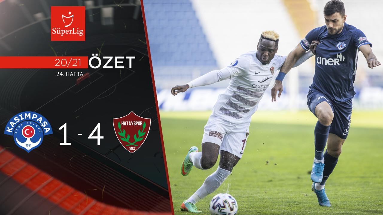 Kasımpaşa Atakaş Hatayspor maç özeti
