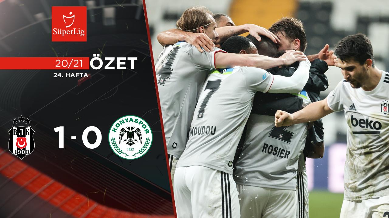 Beşiktaş İttifak Holding Konyaspor maç özeti