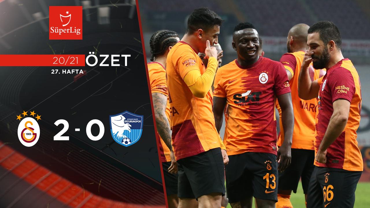 Galatasaray BB Erzurumspor maç özeti