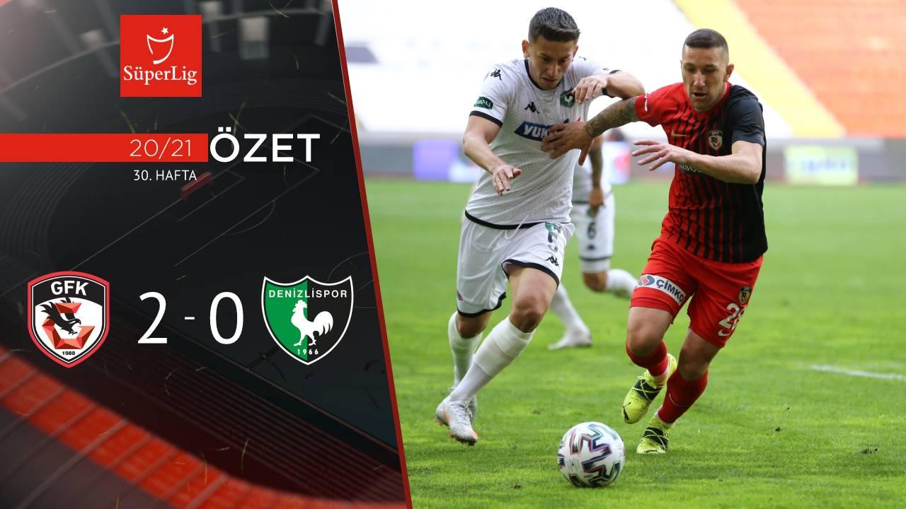 Gaziantep FK Yukatel Denizlispor maç özeti