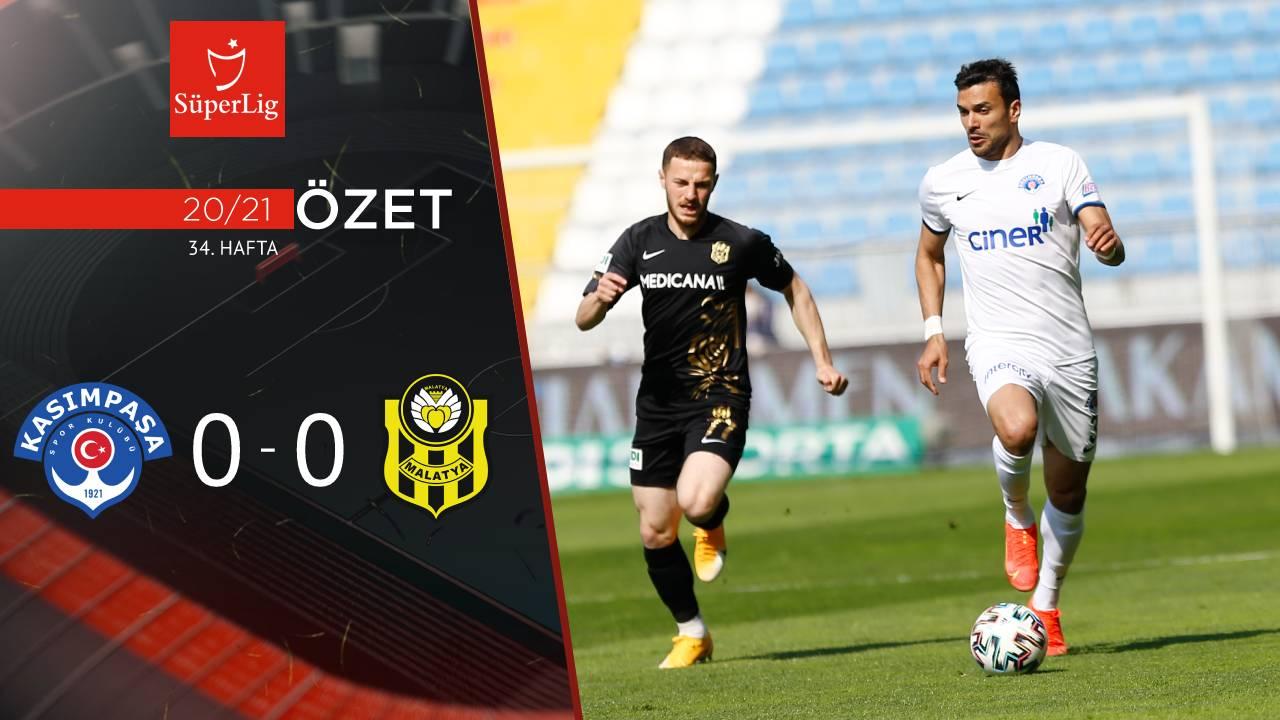 Kasımpaşa Helenex Yeni Malatyaspor maç özeti