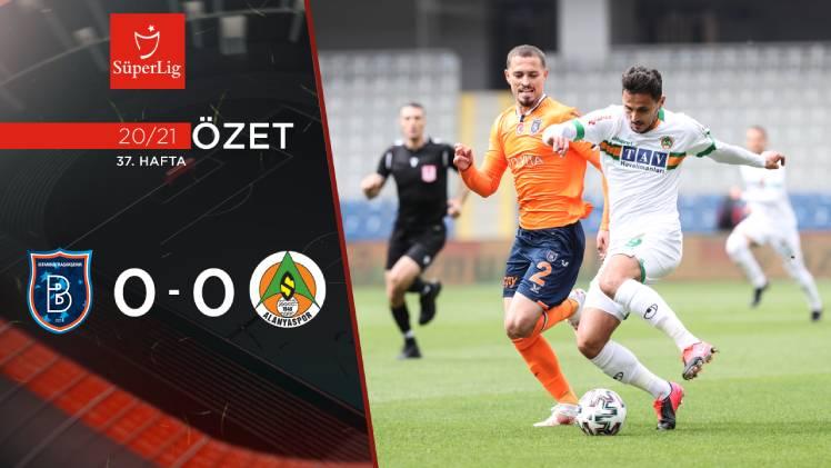 Medipol Başakşehir Aytemiz Alanyaspor maç özeti