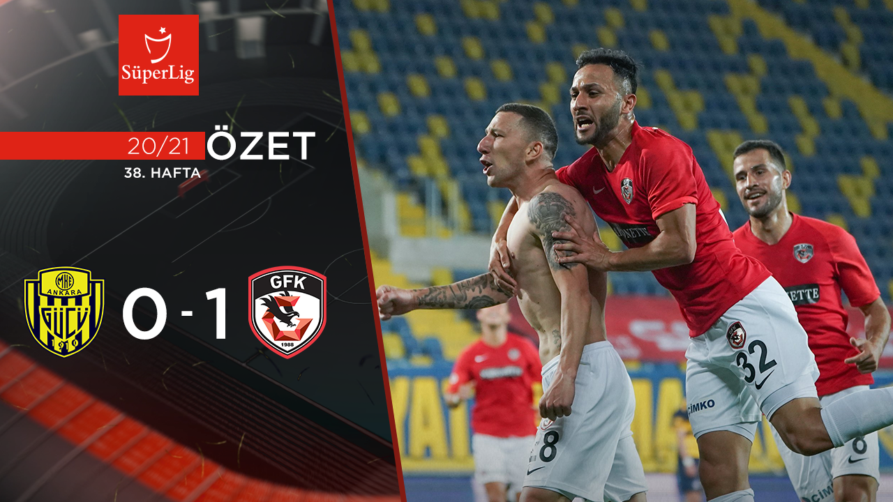 MKE Ankaragücü Gaziantep FK maç özeti