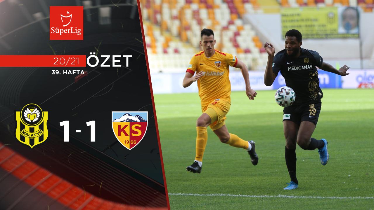 Helenex Yeni Malatyaspor Hes Kablo Kayserispor maç özeti