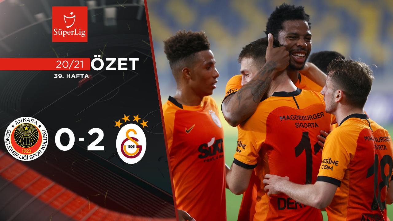Gençlerbirliği Galatasaray maç özeti